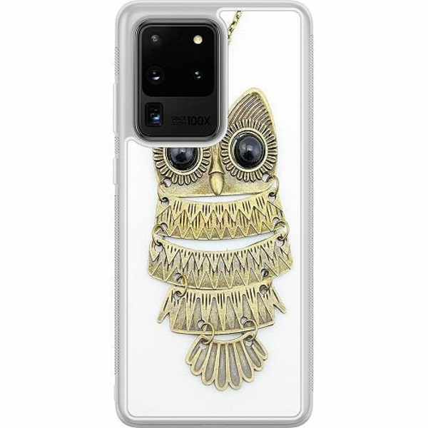 Samsung Galaxy S20 Ultra Soft Case (Frostad) Uggla
