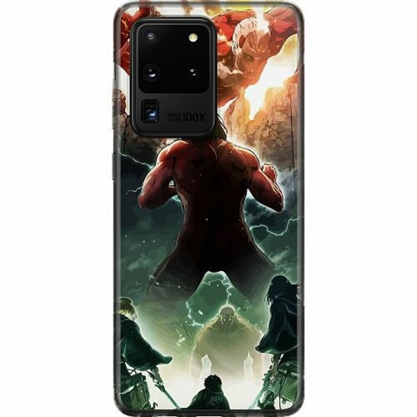 Samsung Galaxy S20 Ultra Thin Case Attack On Titan