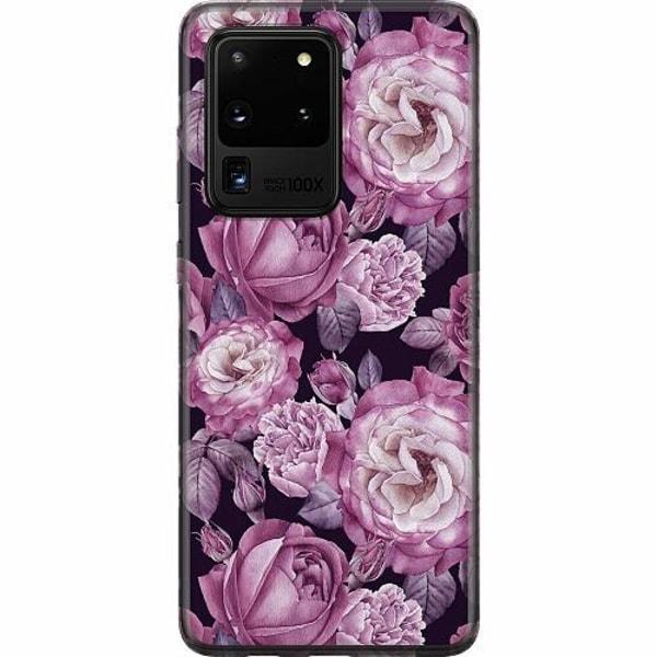Samsung Galaxy S20 Ultra Mjukt skal - Blommor