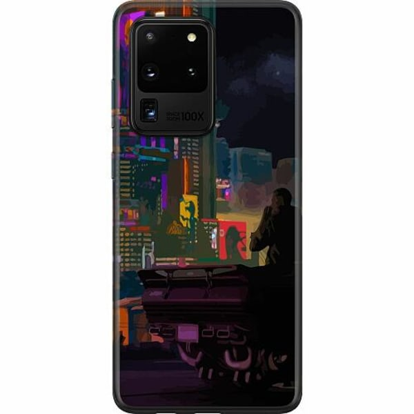 Samsung Galaxy S20 Ultra Thin Case Cyberpunk 2077
