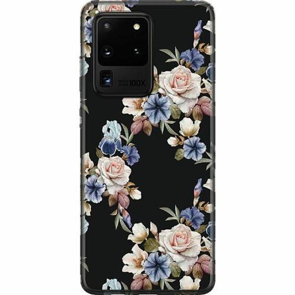 Samsung Galaxy S20 Ultra Mjukt skal - Floral