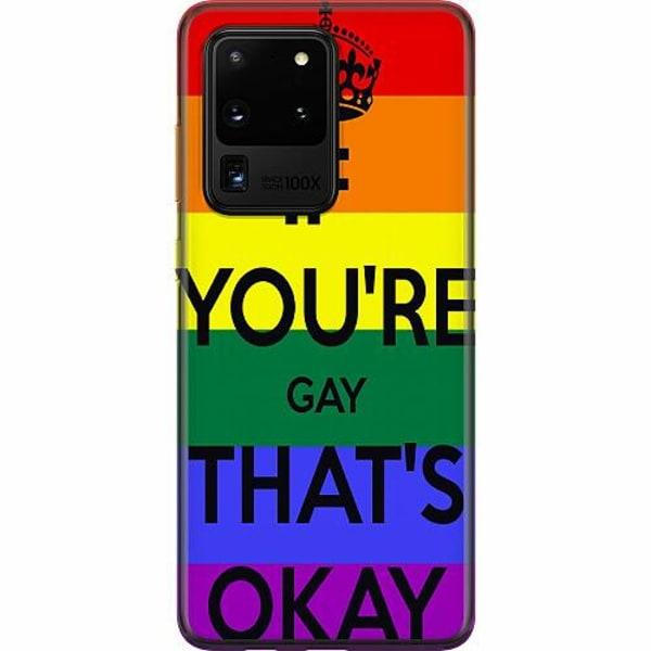 Samsung Galaxy S20 Ultra Mjukt skal - Pride