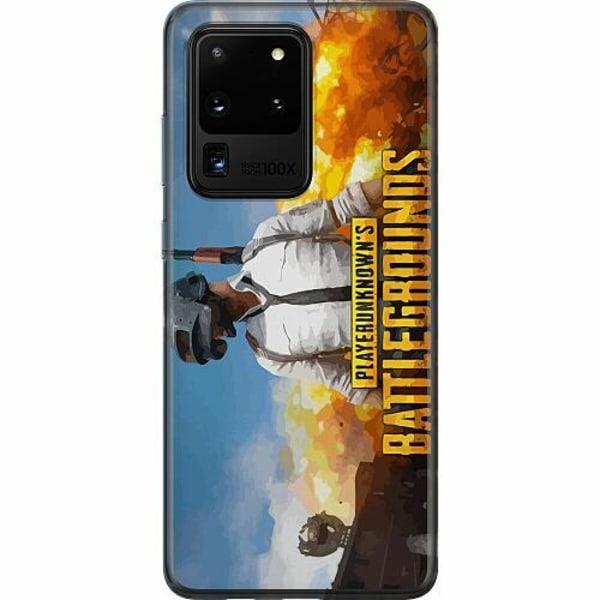 Samsung Galaxy S20 Ultra Thin Case PUBG