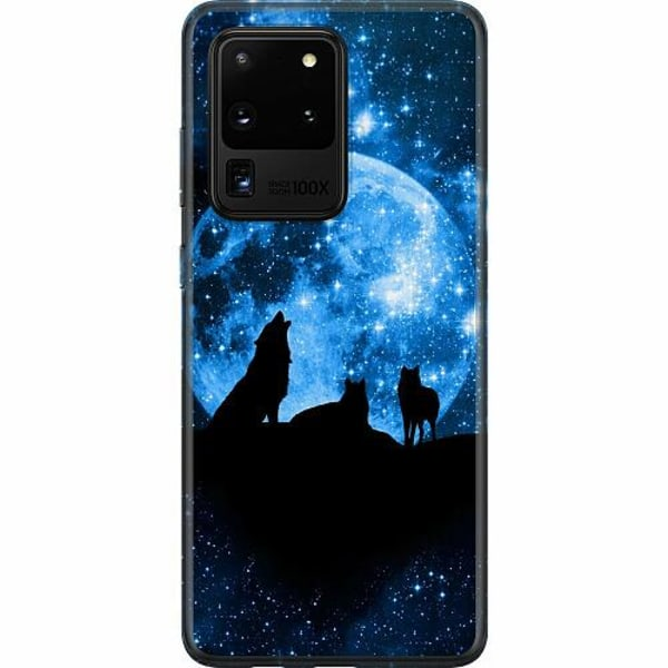 Samsung Galaxy S20 Ultra Thin Case Statement Wolf 1055