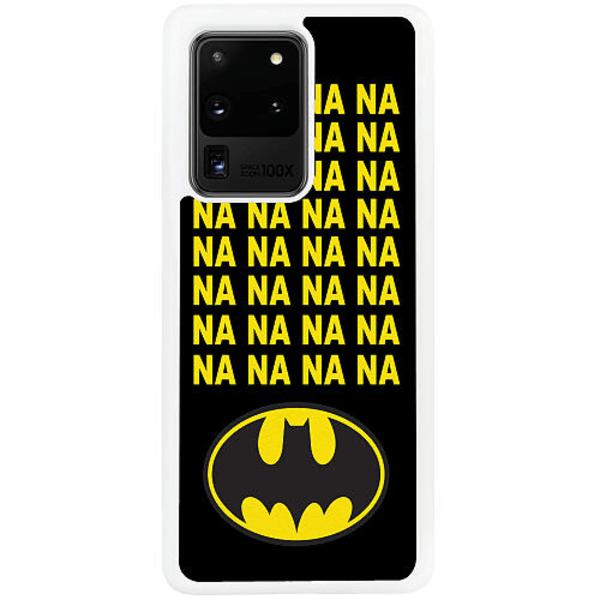 Samsung Galaxy S20 Ultra Vitt Mobilskal Batman