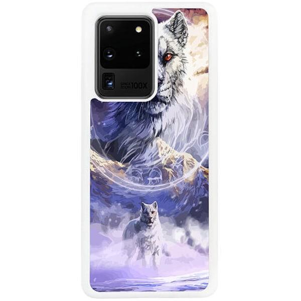 Samsung Galaxy S20 Ultra Vitt Mobilskal Kanu, The Frost Wolf God