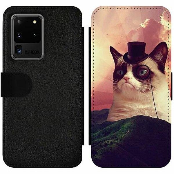 Samsung Galaxy S20 Ultra Wallet Slim Case Cat Af Grund
