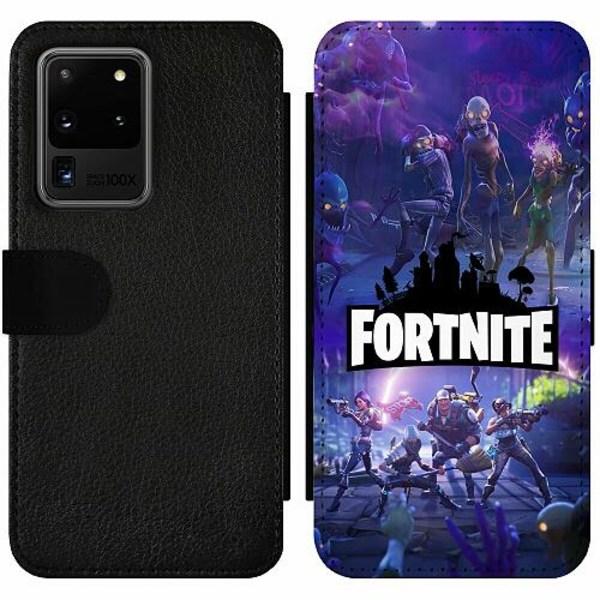 Samsung Galaxy S20 Ultra Wallet Slim Case Fortnite Gaming