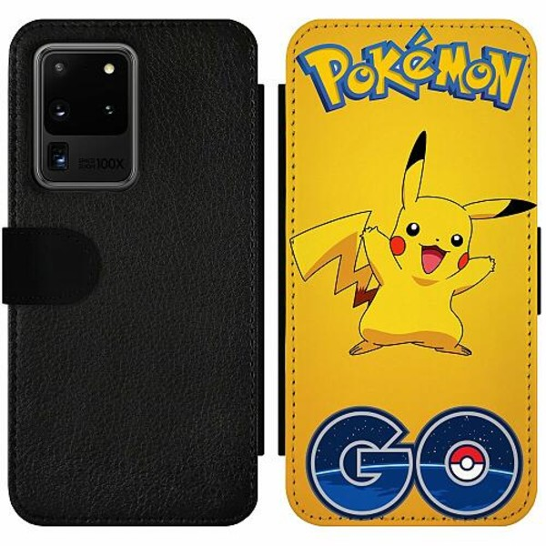 Samsung Galaxy S20 Ultra Wallet Slim Case Pokemon