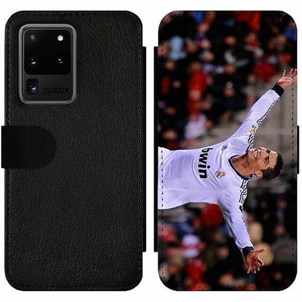 Samsung Galaxy S20 Ultra Wallet Slim Case Ronaldo
