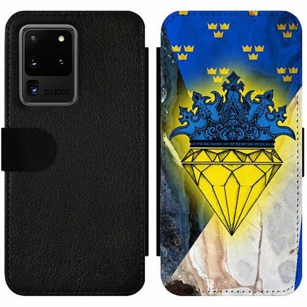 Samsung Galaxy S20 Ultra Wallet Slim Case Sverige