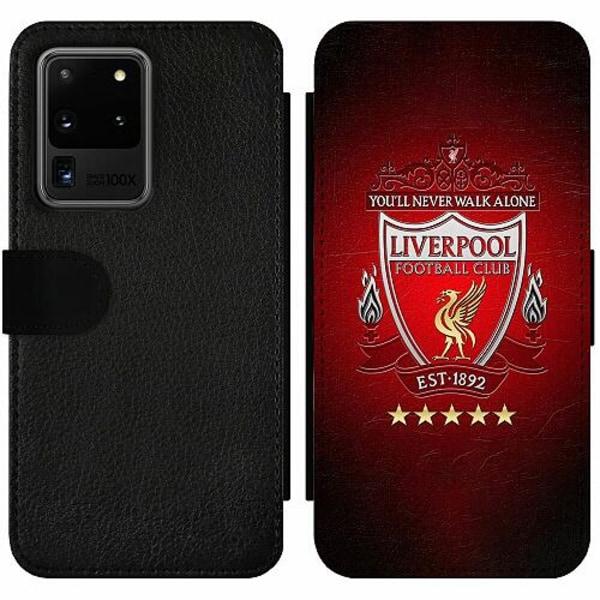 Samsung Galaxy S20 Ultra Wallet Slim Case YNWA Liverpool
