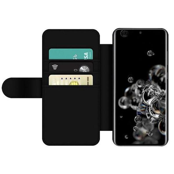Samsung Galaxy S20 Ultra Wallet Slim Case Billie Eilish 2021