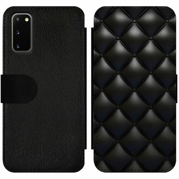Samsung Galaxy S20 Wallet Slim Case Leather Black