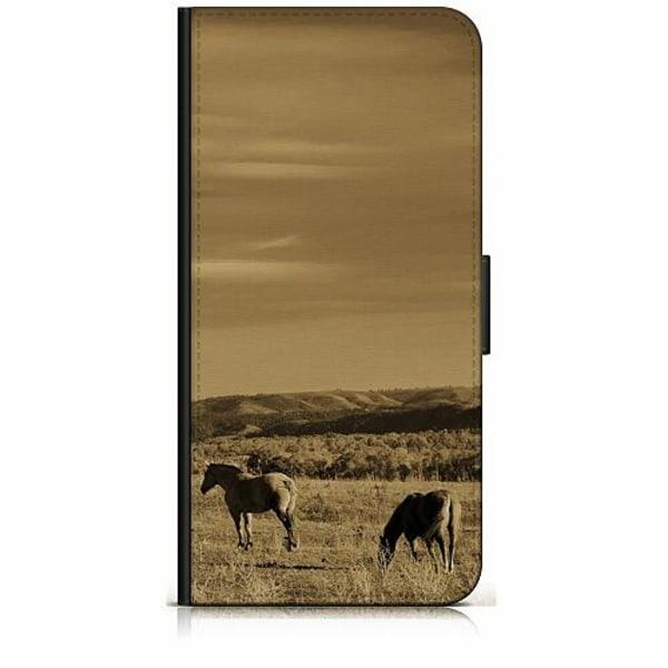 Samsung Galaxy J5 (2017) Plånboksfodral Häst / Horse