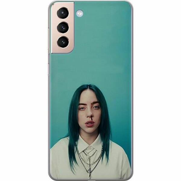 Samsung Galaxy S21 TPU Mobilskal Billie Eilish 2021