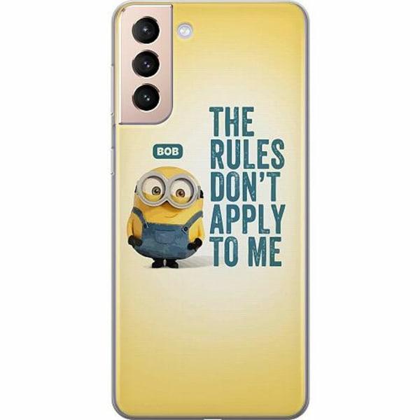 Samsung Galaxy S21 TPU Mobilskal Minions