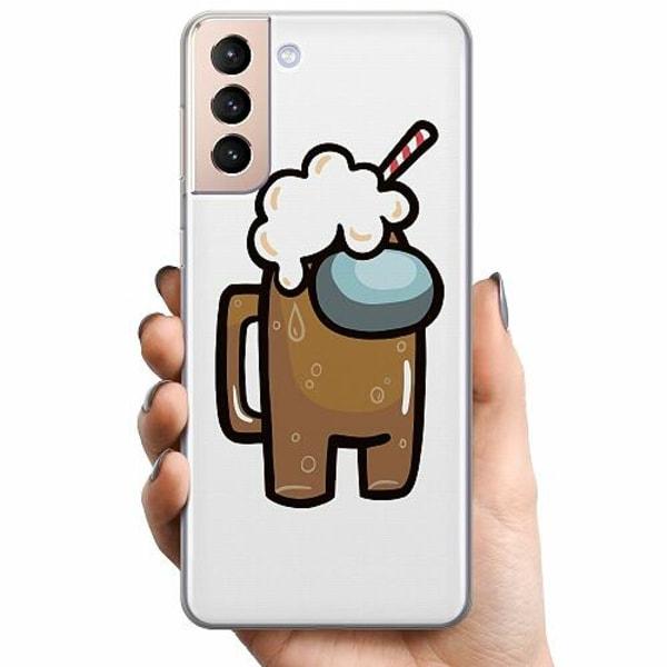 Samsung Galaxy S21 TPU Mobilskal Among Us