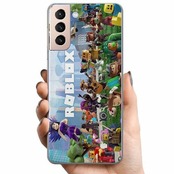 Samsung Galaxy S21 TPU Mobilskal Roblox