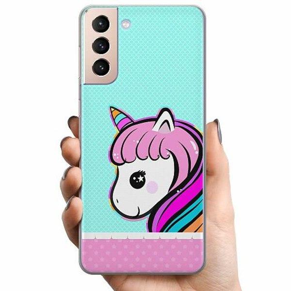 Samsung Galaxy S21 TPU Mobilskal UNICORN