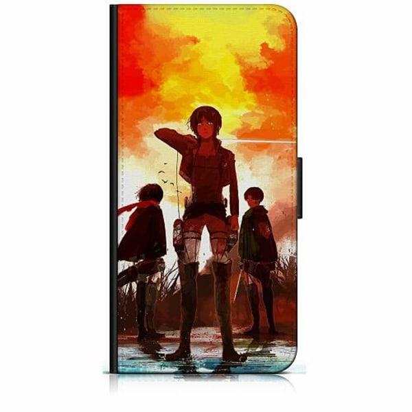 Apple iPhone 7 Plånboksfodral Attack On Titan