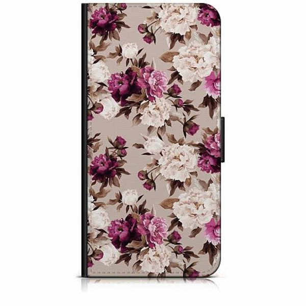 Samsung Galaxy A40 Plånboksfodral Blommor