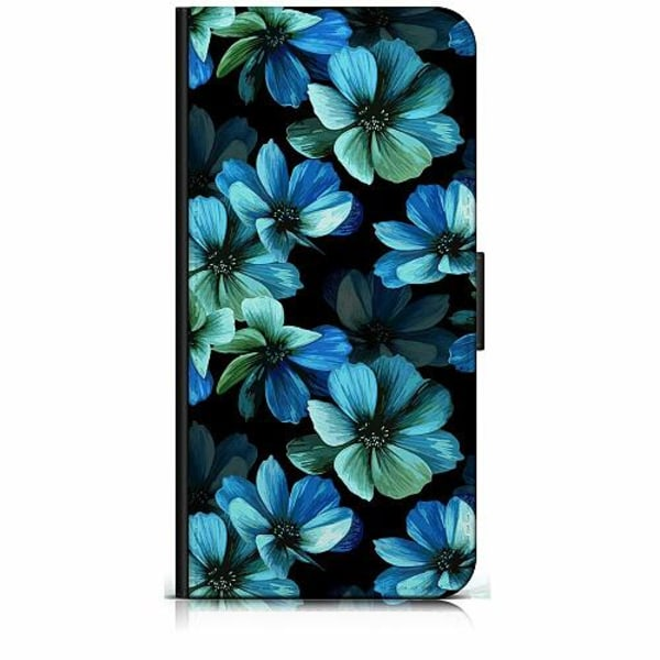 Samsung Galaxy A20e Plånboksfodral Blommor