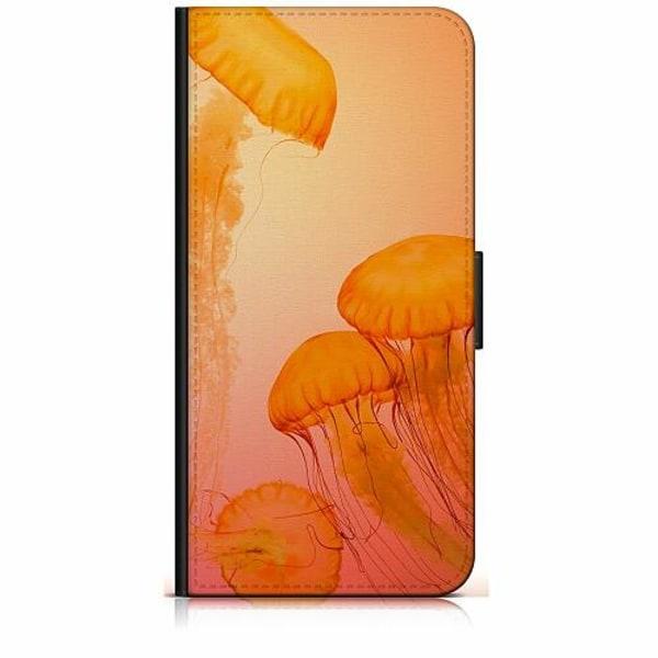 Samsung Galaxy A40 Plånboksfodral Blood Orange Jelly