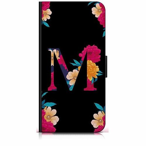 Apple iPhone 6 / 6S Plånboksfodral Bokstaven - M
