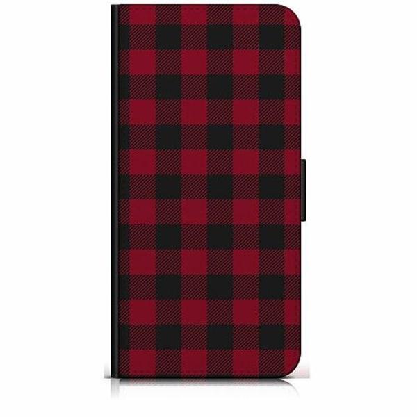 Samsung Galaxy A40 Plånboksfodral Checkered Flannel