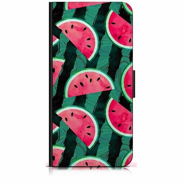Samsung Galaxy A40 Plånboksfodral Crazy for Watermelon