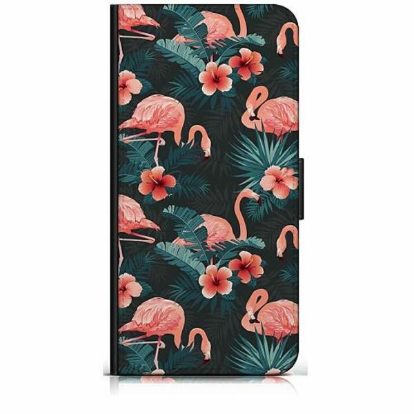 Samsung Galaxy A40 Plånboksfodral Flamingo