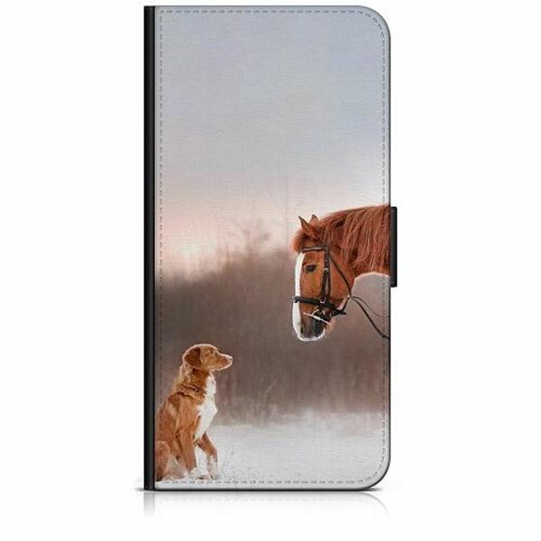 Apple iPhone 6 / 6S Plånboksfodral Häst & Hund