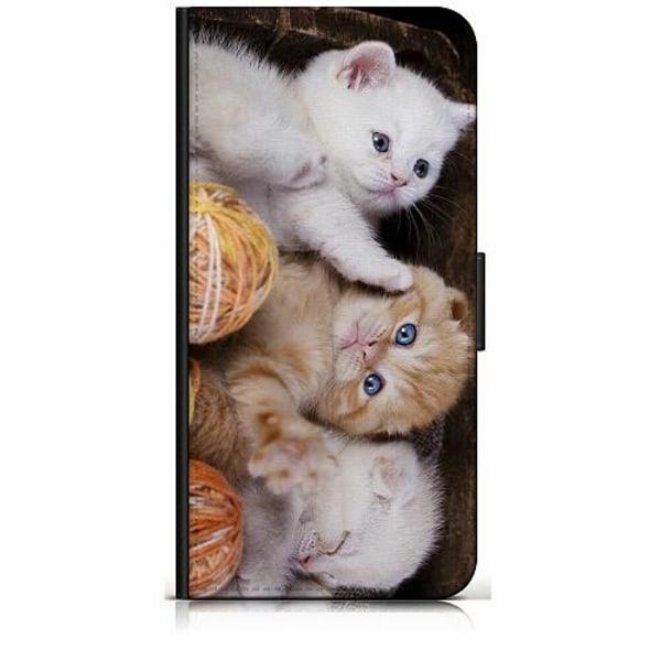 Huawei P Smart Z Plånboksfodral Kittens and Yarn