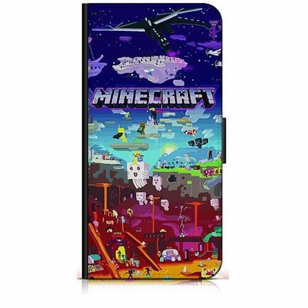 Samsung Galaxy A20e Plånboksfodral MineCraft