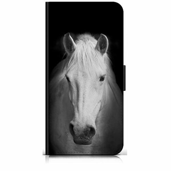 Huawei P Smart Z Plånboksfodral Vit Häst
