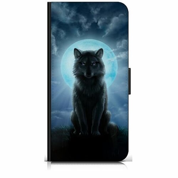 Samsung Galaxy S20 FE Plånboksfodral Wolf in the Dark