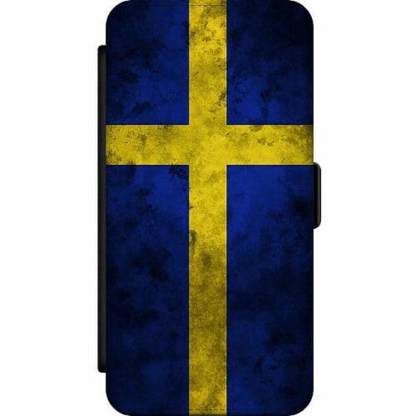 Samsung Galaxy Note 20 Wallet Slim Case Sverige Flagga
