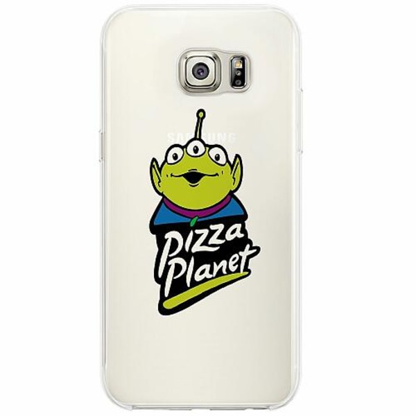 Samsung Galaxy S6 Edge Firm Case Pizza Planet