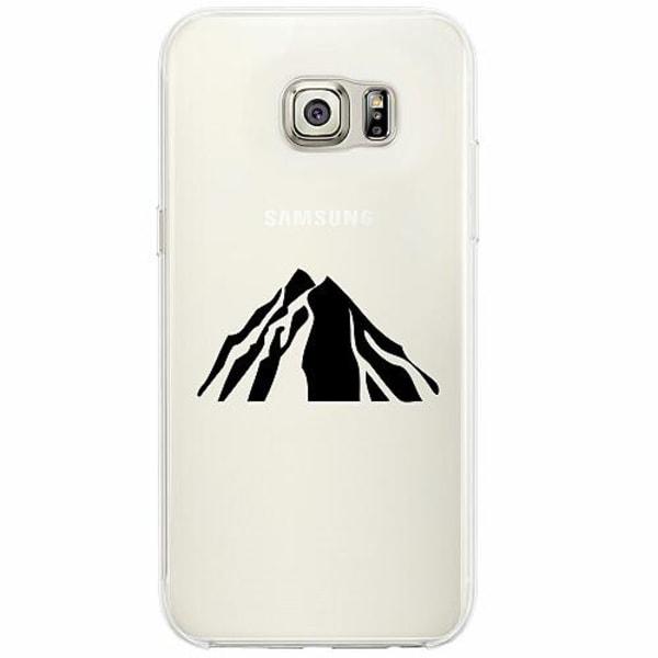 Samsung Galaxy S6 Edge Firm Case Volcano Peak