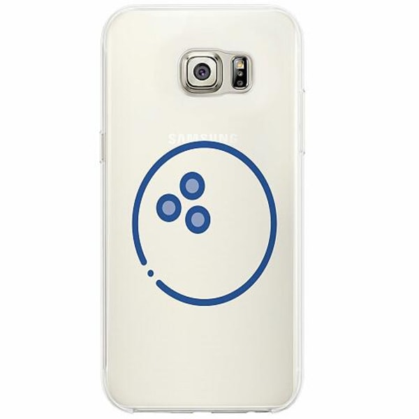 Samsung Galaxy S6 Edge Firm Case Bowling Holes