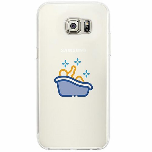 Samsung Galaxy S6 Edge Firm Case Squeeky Clean