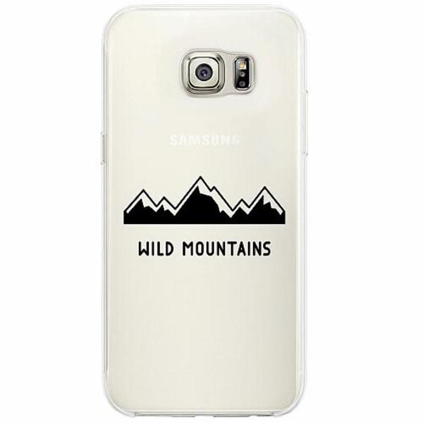 Samsung Galaxy S6 Edge Firm Case Wild Mountains