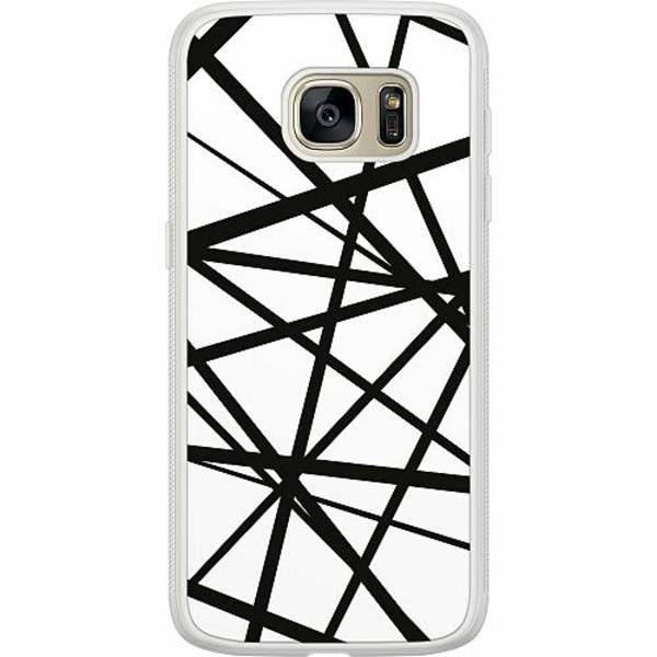 Samsung Galaxy S7 Soft Case (Frostad) Caught In Webs