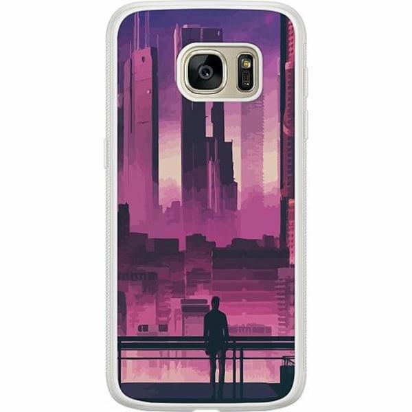Samsung Galaxy S7 Soft Case (Frostad) Cyberpunk 2077