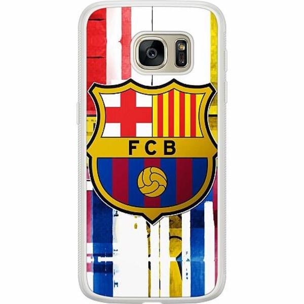 Samsung Galaxy S7 Soft Case (Frostad) FC Barcelona
