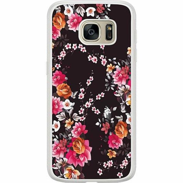 Samsung Galaxy S7 Soft Case (Frostad) Flower Splash