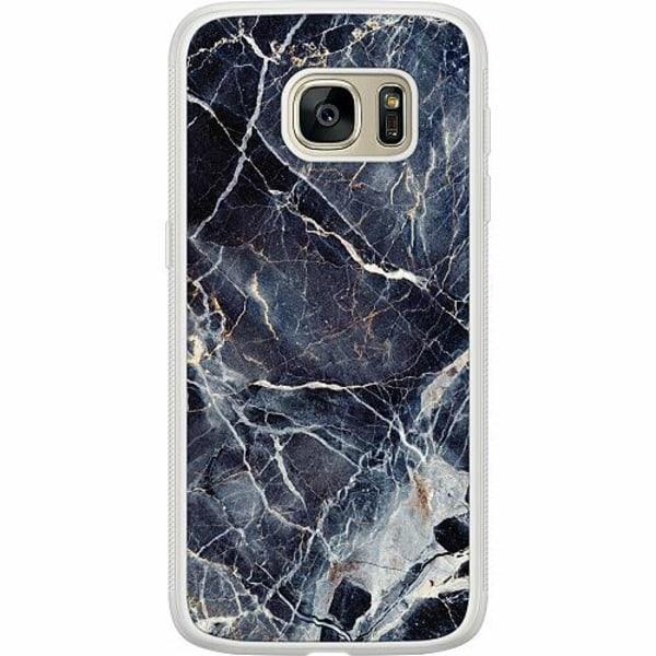 Samsung Galaxy S7 Soft Case (Frostad) Marbled
