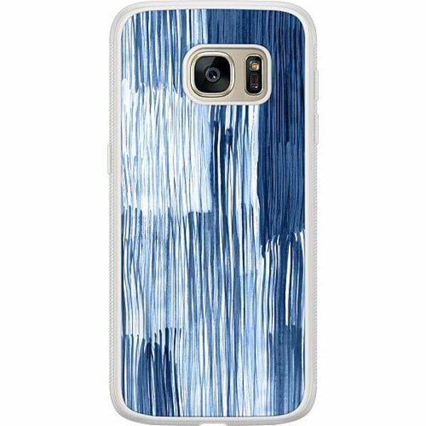 Samsung Galaxy S7 Soft Case (Frostad) Rain On Windowsill