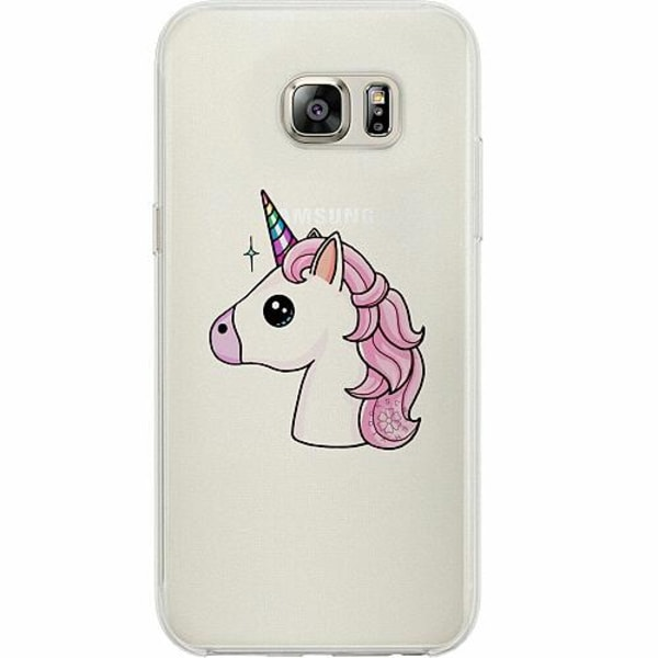 Samsung Galaxy S7 Thin Case Unicorn